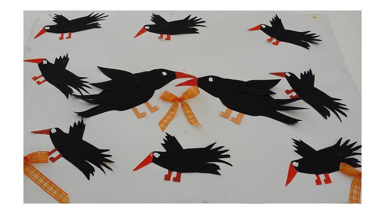 dansul corbilor