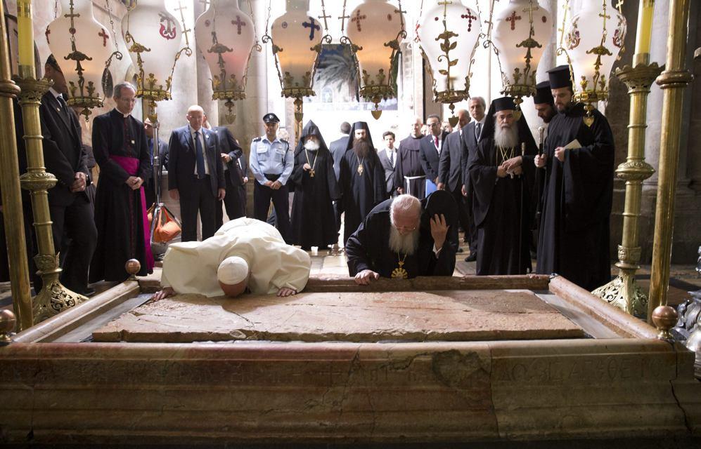 POPE_AND_BARTHOLOMEW_AT_THE_STONE